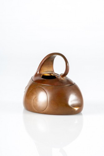 A Japanese bronze Koro  - Asian Works of Art Style