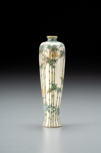 Kinkozan - A Japanese Satsuma vase - Asian Works of Art Style