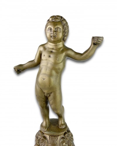 Bronze sculpture of a putto. Nuremberg, first half of the 16th century. - Sculpture Style