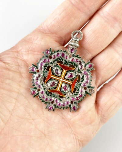 - Ruby order of Christ. Portuguese 18th century