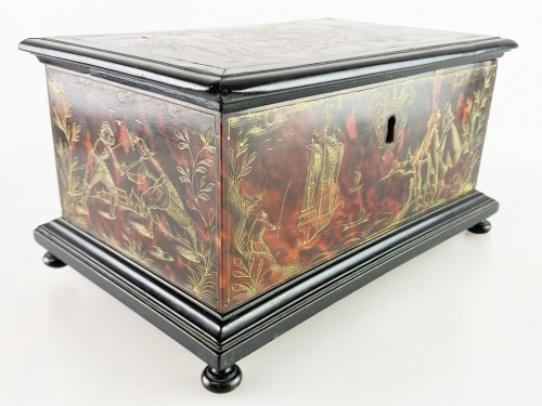 - Tortoiseshell casket. Italian or Spanish, late 17th century