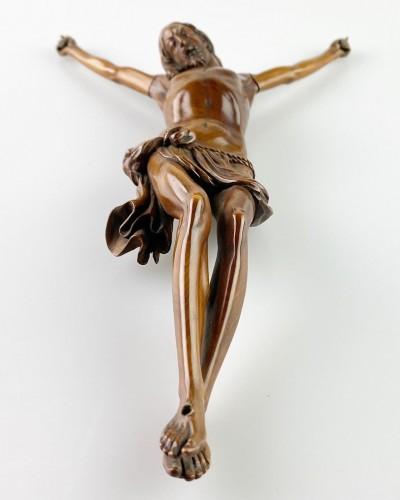 Fruitwood Corpus Christi. French, mid 17th century. -