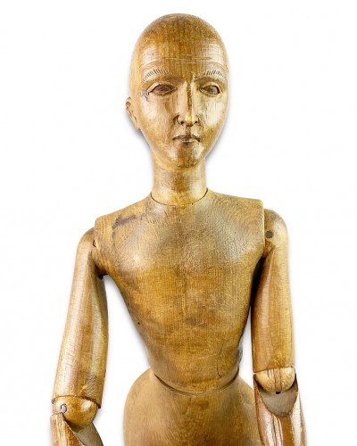 Curiosities  - Artists lay figure. French, late 19th century