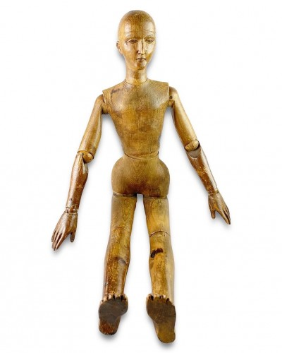- Artists lay figure. French, late 19th century