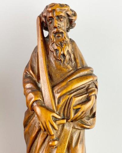Curiosities  - Boxwood knife handles. Flemish, second half of the 17th century.