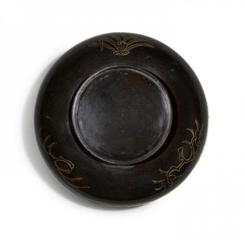 Asian Works of Art  - Edo period Sawasa ware box. Japan, early 18th century.