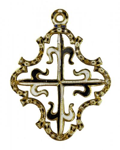 Gold and enamel Order for Saint Dominic. Spanish, c.1630.