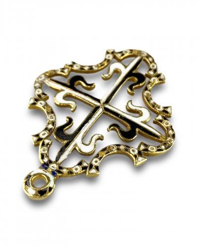 Gold and enamel Order for Saint Dominic. Spanish, c.1630. -