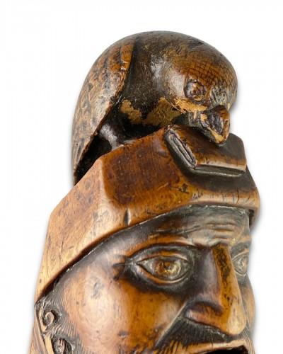 Antiquités - Renaissance boxwood nutcracker. French, c.1580