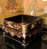 "Small table of ""lettré"" - Mother of pearl inlay - China XIXth century"