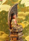 Buddha - japanese lacquer buddhist deity