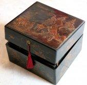 European lacquer box, « Martin » XVIIIth century