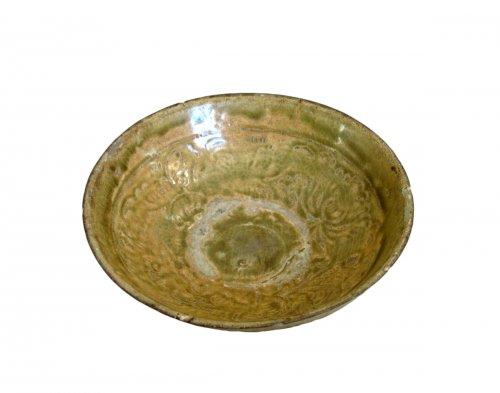 Enamelled stoneware cup - Tanhoa Vietnam XIIIth century