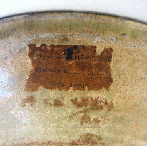 - Enamelled stoneware cup - Tanhoa Vietnam XIIIth century
