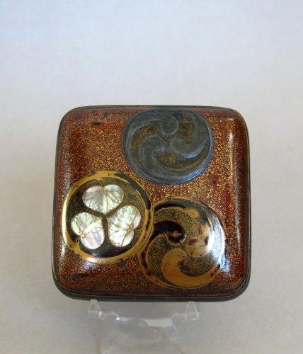 Kôgô – Japanese incense lacquer box, Japan Edo - Asian Art & Antiques Style