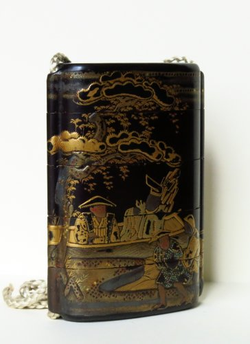 Inro Japanese urushi lacquer, Japan EDO - Asian Art & Antiques Style