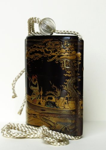 Asian Art & Antiques  - Inro Japanese urushi lacquer, Japan EDO