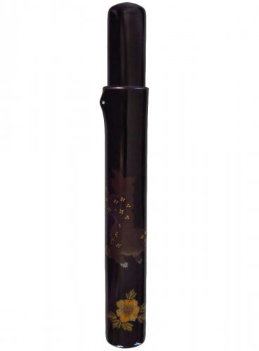 A japanese lacquer Pipecase, Japan Edo, 19th century