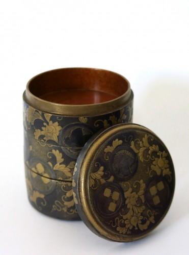 Lacquer Box Japanese gold lacquer Ju-Kôgô -18th century - Asian Art & Antiques Style