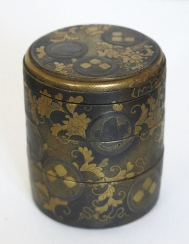 18th century - Lacquer Box Japanese gold lacquer Ju-Kôgô -18th century