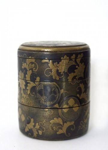 Antiquités - Lacquer Box Japanese gold lacquer Ju-Kôgô -18th century