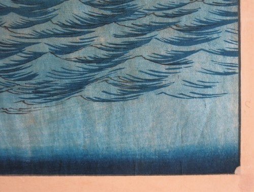 Asian Art & Antiques  - HIROSHIGE Ando (1797-1858) - Famous views Sixty-odd Provinces of Japan