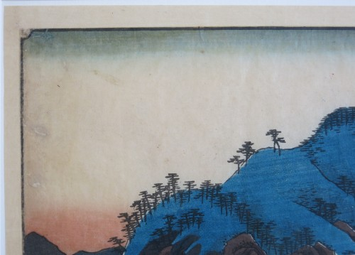 - HIROSHIGE Ando (1797-1858) - Famous views Sixty-odd Provinces of Japan