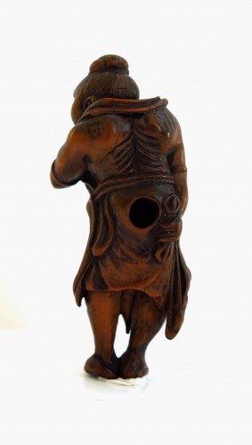 Netsuke – A Nio, the temple guardian. Japan Edo - Asian Art & Antiques Style