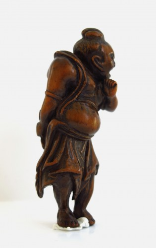 18th century - Netsuke – A Nio, the temple guardian. Japan Edo