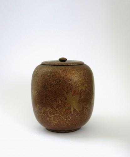 Takigara-Ire Japanese urushi lacquer box. Japan, Edo - Asian Art & Antiques Style