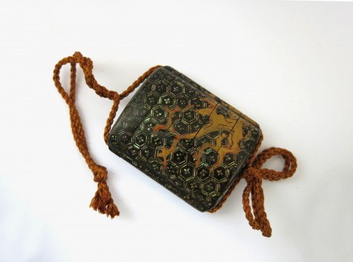 Asian Art & Antiques  - A rare Yatate shaped Inro, Japan Edo