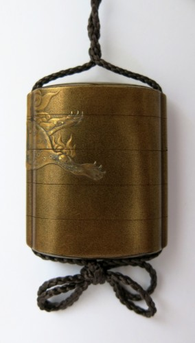 Japanese gold lacque Inro, Japan Edo - Asian Art & Antiques Style