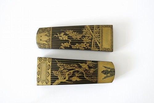 Kôg ôSmall urushi lacquer instruments boxes, Japan Edo 18th century - Asian Art & Antiques Style