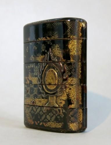 Asian Art & Antiques  - Inro Musical instrument and a drum Dadaiko. Japan Edo