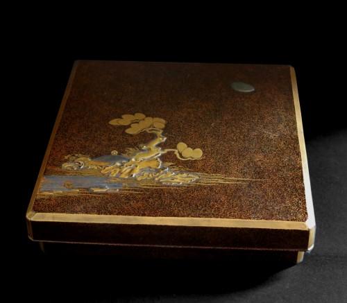 SUZURIBAKO – Japanese urushi lacquer.  Japan Edo 18th century - Asian Art & Antiques Style