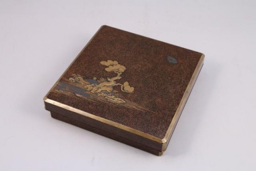 SUZURIBAKO – Japanese urushi lacquer.  Japan Edo 18th century -