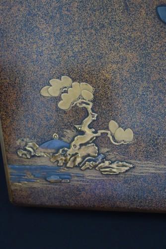 18th century - SUZURIBAKO – Japanese urushi lacquer.  Japan Edo 18th century