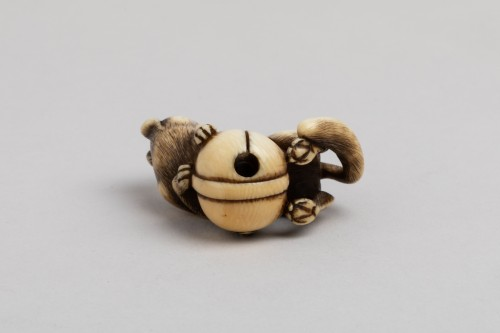 19th century - Netsuke – A very fine netsuke of a fox. Japan Edo