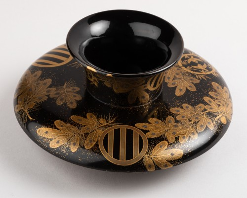 Tenmoku –  A Tea bowl stand Japan late Edo(1603-1868)/early Meiji(1868-1912 -
