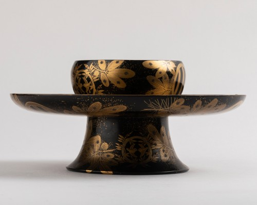 Antiquités - Tenmoku –  A Tea bowl stand Japan late Edo(1603-1868)/early Meiji(1868-1912