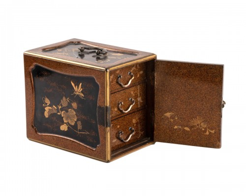 A KODANSU miniature cabinet, Japan Edo 19th century