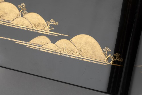 Lacquer Chabako  - Tea Ceremony Utensils Box, Japan Edo 17th - Asian Works of Art Style