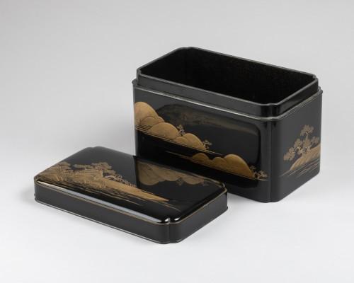 Lacquer Chabako  - Tea Ceremony Utensils Box, Japan Edo 17th -