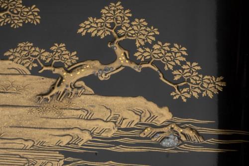 - Lacquer Chabako  - Tea Ceremony Utensils Box, Japan Edo 17th