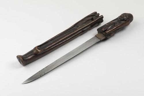 19th century - Tantô in Ashinaga-Tenaga shape, Japan Edo 19th century