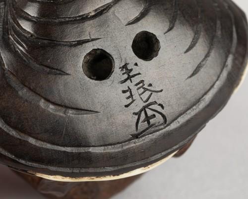 Netsuke  - Kappa by Gyokumin, Japan Edo early 19th century -