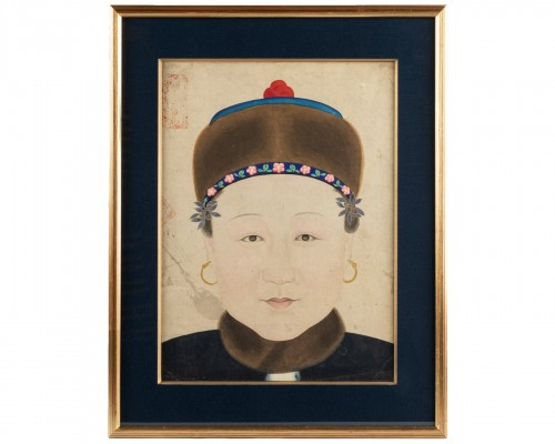 Portrait of a Chinese noble woman