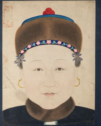 Portrait of a Chinese noble woman - Asian Works of Art Style