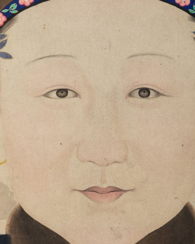 Portrait of a Chinese noble woman -