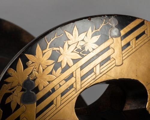 Asian Works of Art  - Kura - Saddle, Japan Edo